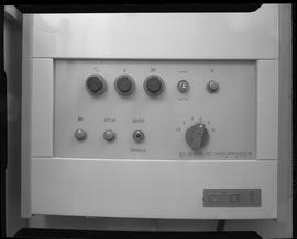 Medical radiography; control panel for an Elema-Schonander AOT