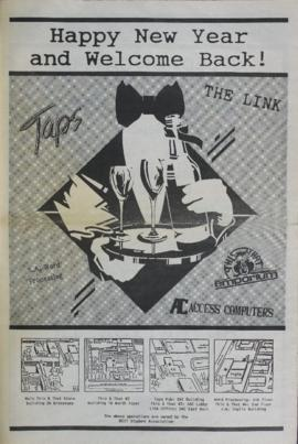 The Link Newspaper 1988-01 Back to School Flyer