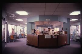 Advanced critical care studies, reception desk, September 1987