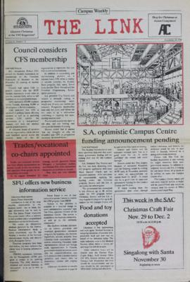The Link Newspaper 1988-11-30