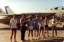 Group photograph at Abbotsford Air Show August, 8 1980 (?)