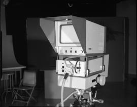 British Columbia Institute of Technology Broadcasting ; 1960s ; teleprompter