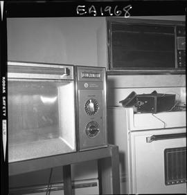 BC Vocational School image of appliances used in the Appliance Servicing program; toaster oven an...