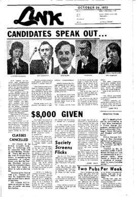 The Link Newspaper 1972-10-26