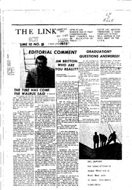 The Link Newspaper 1975-05-01