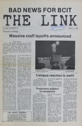 The Link Newspaper 1984-03-07