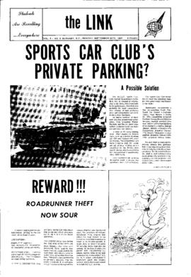 The Link Newspaper 1967-09-25