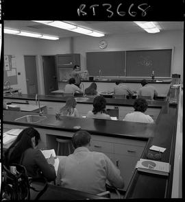 BCVS image of Basic Training Skills Development (BTSD) students sitting in a laboratory with an i...