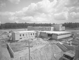 BCIT construction, April 1968