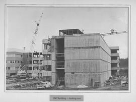 British Columbia Institute of Technology - Burnaby campus, looking east - early building construc...