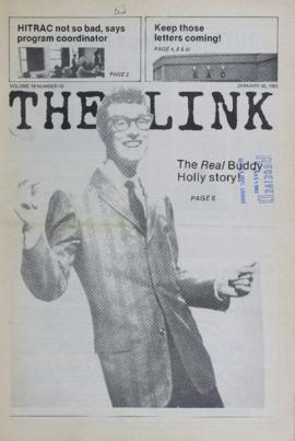 The Link Newspaper 1985-01-30