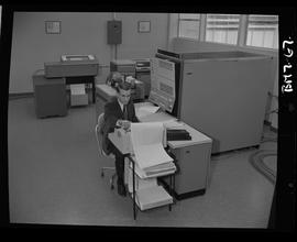 British Columbia Institute of Technology - program photographs - 1960's - Business Management, ma...