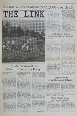 The Link Newspaper 1987-11-12