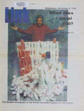 The Link Newspaper 1996-11-06
