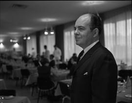 Hotel Motel Restaurant Administration Program; man posing for a photograph in a dining room