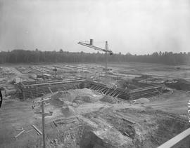BCIT construction, September 1967