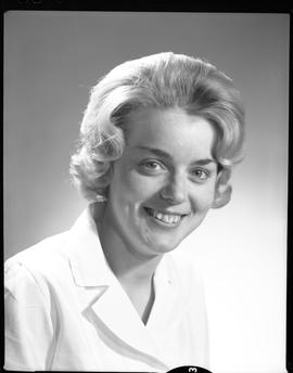 Devette, Jane, Medical Lab, Staff portraits 1965-1967 (E) [4 of 5 photographs]