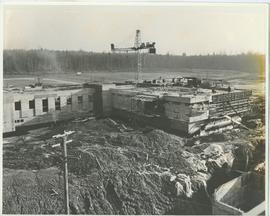 BCIT Library building - under construction