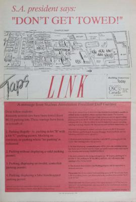 The Link Newspaper 1990-11-14