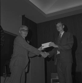 Student Scholarship Awards, BCIT, 1970 [9]