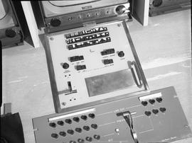 British Columbia Institute of Technology Broadcasting ; 1960s ; control panel for a Conrac camera...