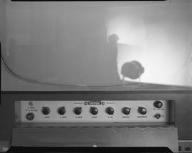 British Columbia Institute of Technology Broadcasting ; 1960s ; Conrac television monitor control...
