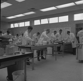 Hotel Motel Restaurant Administration Program; students in a classroom preparing food [10 of 11]