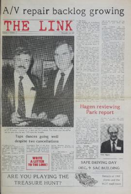 The Link Newspaper 1987-11-18